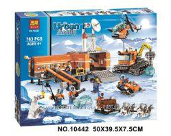 Конструктор Urban Arctic 10442 Арктический лагерь аналог City 60036
