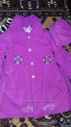 пальто для девочки кашемировое
