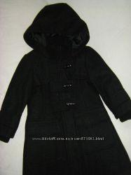 Вельветовое и шерстяное пальто Некст  110- 116
