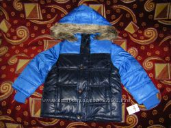 Осенне-зимняя куртка  Тополино, Лупилу  на 4-6 лет