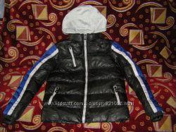Теплая фирменная куртка и куртка Calvin Klein, с флисовой подстежкой