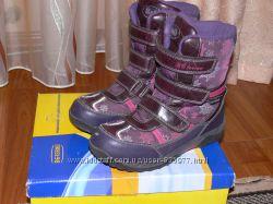 Термо-ботинки,  сапоги  фирмы B&G,  35р. , по стельке 23см.