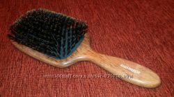 щетка для волос из красного дерева со щетиной, Франция