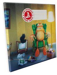 3D Тетрадь ученическая Монстр Боб, 12 листов, серия Мультяшки
