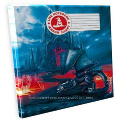 3D Тетрадь ученическая Дракон Гарольд, 12 листов, серия Мультяшки