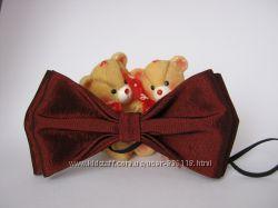 Бабочка - галстук бордовий колір