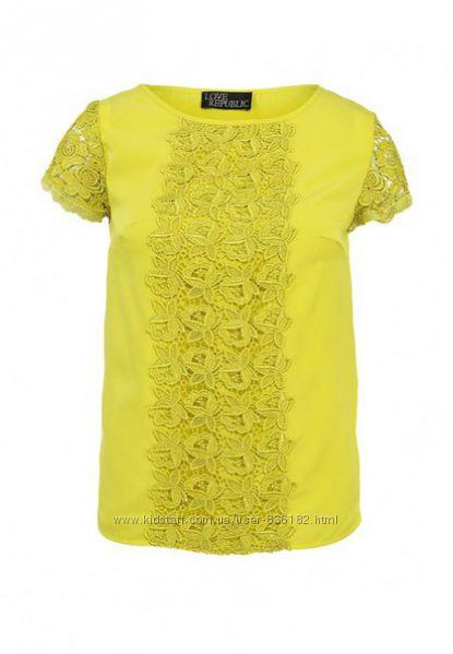 Распродажа шикарных блузочек love republic маленьких размеров