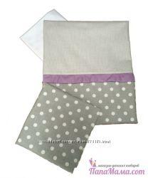 Комплект детского сменного постельного белья Twins Premium Glamur