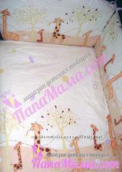 Детское постельное Comfort Жирафы, Польша, 100 бязь