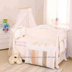 Комплекты в кроватку для новорожденных Twins Dolce Друзья зайчики