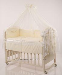 Комплект постельного в кроватку Принцесса сатин
