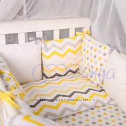 Комплект Baby Design зигзаг 4 цвета