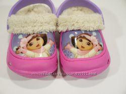 Сабо утепленные Dora как новые