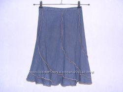 NEXT джинсовая юбка для девочки 9-10 лет, отличное состояние
