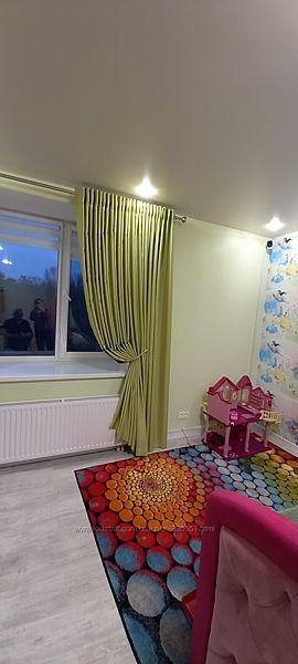 Ткань для штор блекаут люкс Турция, пошив и дизайн