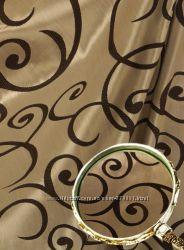 Шторы рисунок завитки, Турция,  пошив