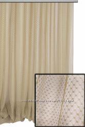 Тюль сетка, разные виды плетения, пошив