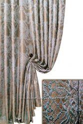 Портеьрная ткань-компаньон новинка медальон, пошив