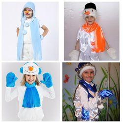 Карнавальный костюм Снеговик, новые