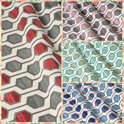 Ткань для штор, римских штор, скатертей и покрывал соты, пошив и дизайн