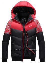 Акция Nike Новая Мужская Зимняя Куртка-Пуховик 2 Цв