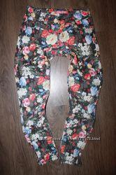 цветные брюки для девочки 9-11лет