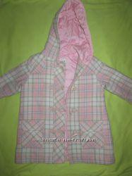 Пальто для девочки NEXT 12-18мес