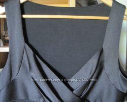 Платье из стрейч атласа