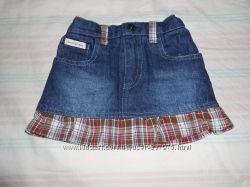 джинсовые юбки с вшытыми шортами на 3 года
