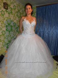 Продам свадебное платье, бу 1 раз