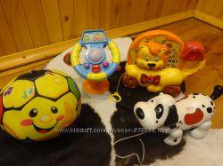Фирменные игрушки от года до 3-х лет.