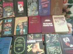 Продам книги из домашней библиотеки детективы