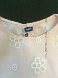 Итальянское кружевное платье  нежно розового цвета  ORIGINAL MARINES