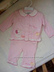 Новый костюм комплект троечка для девочки