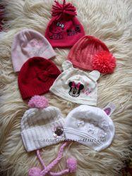 Наши красивые шапочки на малышку на 1 - 3 годика