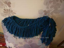 шарф  reserved бирюзового цвета  бискайский залив