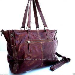 Под заказ - Женская винтажная кожаная сумка Britney 78