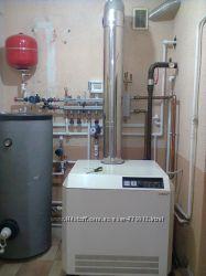 Автономное газовое , электро, твёрдотопливное отопление , житомир