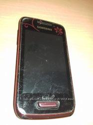 Мобольный телефон Samsung GT- S5380D La Fleur Wine ReD