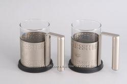 7151 GIPFEL Две кружки для кофе GLACIER-BRISTOL 250 мл