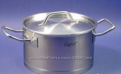 GIPFEL Кастрюля 24-12см. 5, 4л. PRESTIGE со стальной крышкой , арт. 1225 , н