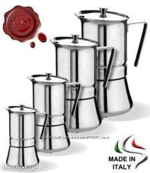 Гейзерные кофеварки GAT, Италия Pratica line 2 чашки