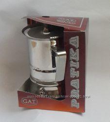 Гейзерные кофеварки GAT, Италия Pratika line 2 чашки