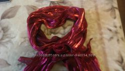 Шикарная легкая шаль-шарф-накидка