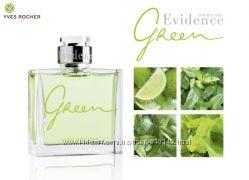 Evidence green от yves rocher для мужчин