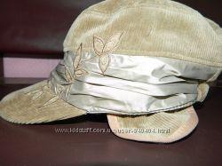 Женская кепка вельвет на подкладке