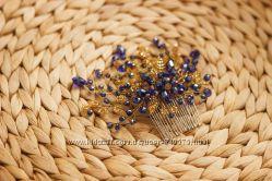 Свадебные гребни и диадемы ручной работы