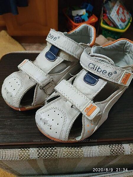 Продам сандали CLIBEE на мальчика