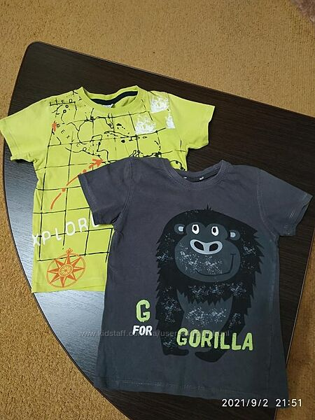 Продам футболки на мальчика