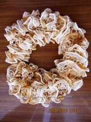вязанный крючком шарф
